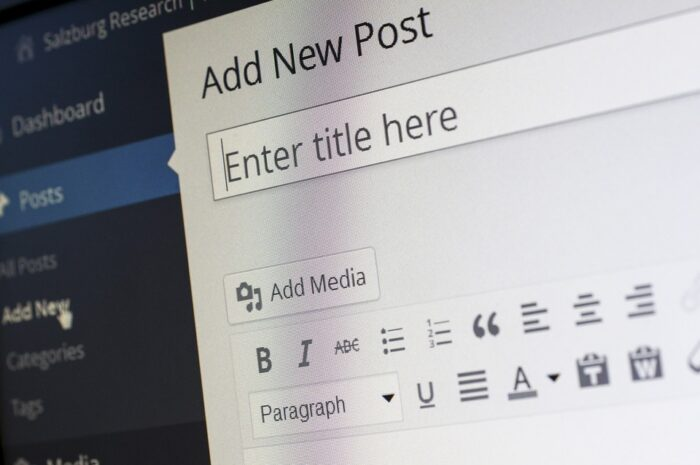 How to develop a website with WordPress